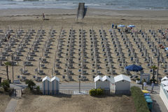 On vacation in Lido di Jesolo (views to the beach) Royalty Free Stock Image