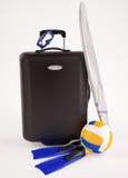 Vacation luggage Stock Photos