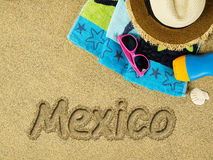 Vacation in Mexico Stock Images