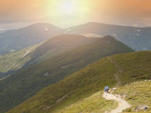 Vacation in the mountains. Royalty Free Stock Images