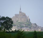 Le Mont-Saint-Michel france royalty free stock photos