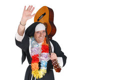 Vacation nun, sister Royalty Free Stock Photography