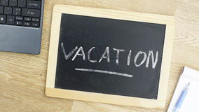 Vacation at the office Royalty Free Stock Photography