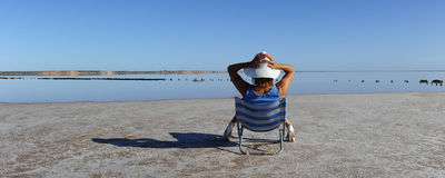 Vacation Outback Lake royalty free stock image