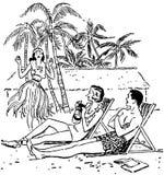 Vacation Paradise Stock Photos