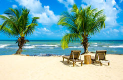 Vacation at Paradise Beach Royalty Free Stock Image