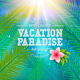 Vacation Paradise - Bon Voyage Royalty Free Stock Images