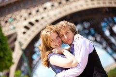 Vacation in Paris Stock Photography