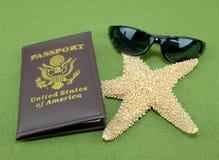 Vacation Passport Royalty Free Stock Photo