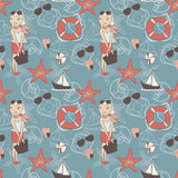 Vacation pattern Royalty Free Stock Images