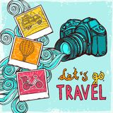 Vacation Photo Background Royalty Free Stock Image