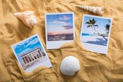 Vacation Photos On Beach Stock Photography