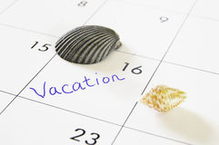 Vacation planning Royalty Free Stock Photos