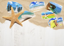 Vacation Postcards Royalty Free Stock Photography