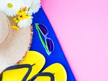Vacation and relaxation, summer travel concept. royalty free stock photos