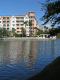 Vacation Resort Buildings & Lake 3 Stock Photo