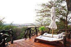 Vacation Resort in Kenya Stock Photo