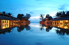 Vacation resort in Thailand Stock Photography
