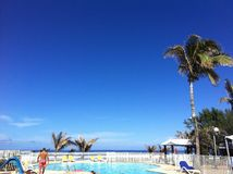 Vacation. In Reunion island Stock Photography