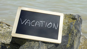 Vacation on the rocks Stock Photos