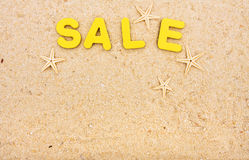 Vacation Sale Stock Photos
