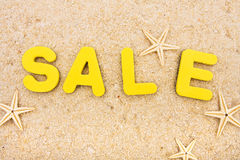 Vacation Sale Stock Image