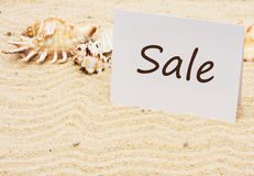 Vacation Sale Royalty Free Stock Image