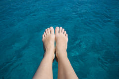 Vacation in Sardinia, Italy. Royalty Free Stock Image