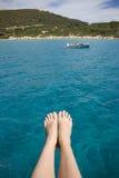 Vacation in Sardinia, Italy. Stock Photos