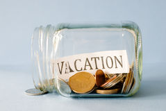 Vacation savings Stock Photography