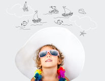 Vacation at sea Stock Images