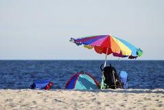 Vacation at sea shore Stock Image