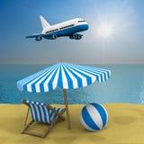 Vacation on the seashore Stock Photography