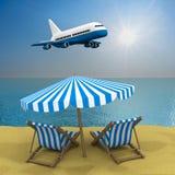 Vacation on the seashore Royalty Free Stock Photography