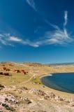 Vacation on the shores of Lake Baikal Royalty Free Stock Photo