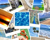 Vacation snaps Stock Image