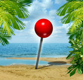 Vacation Spot Royalty Free Stock Images