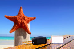 Vacation with starfish Royalty Free Stock Photo