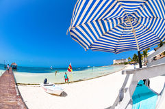 Vacation on summer beach Royalty Free Stock Image