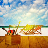 Vacation at summer time Royalty Free Stock Photography