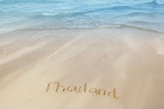 Vacation in Thailand concept Royalty Free Stock Photos