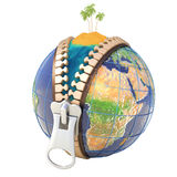 Vacation time. Unzip the world. Hi-res digitally generated image Stock Photography
