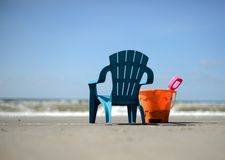 Vacation time and beach. Relax and vacation time and summer time Royalty Free Stock Photo