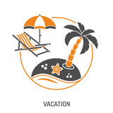 Vacation Time and Tourism Concept Royalty Free Stock Photography