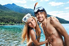 Vacation together Royalty Free Stock Photos