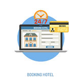 Vacation and Tourism Concept stock illustration