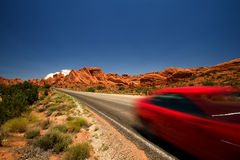 Vacation Travel Arches NP Royalty Free Stock Image
