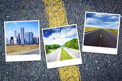 Vacation Travel Background Stock Photography