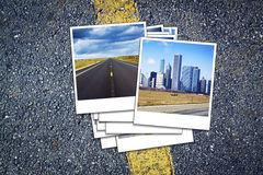 Vacation Travel Background Royalty Free Stock Photo