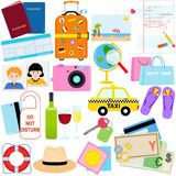 Vacation - Travel vector icon Royalty Free Stock Photos